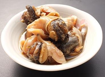 つぶ貝醤油漬