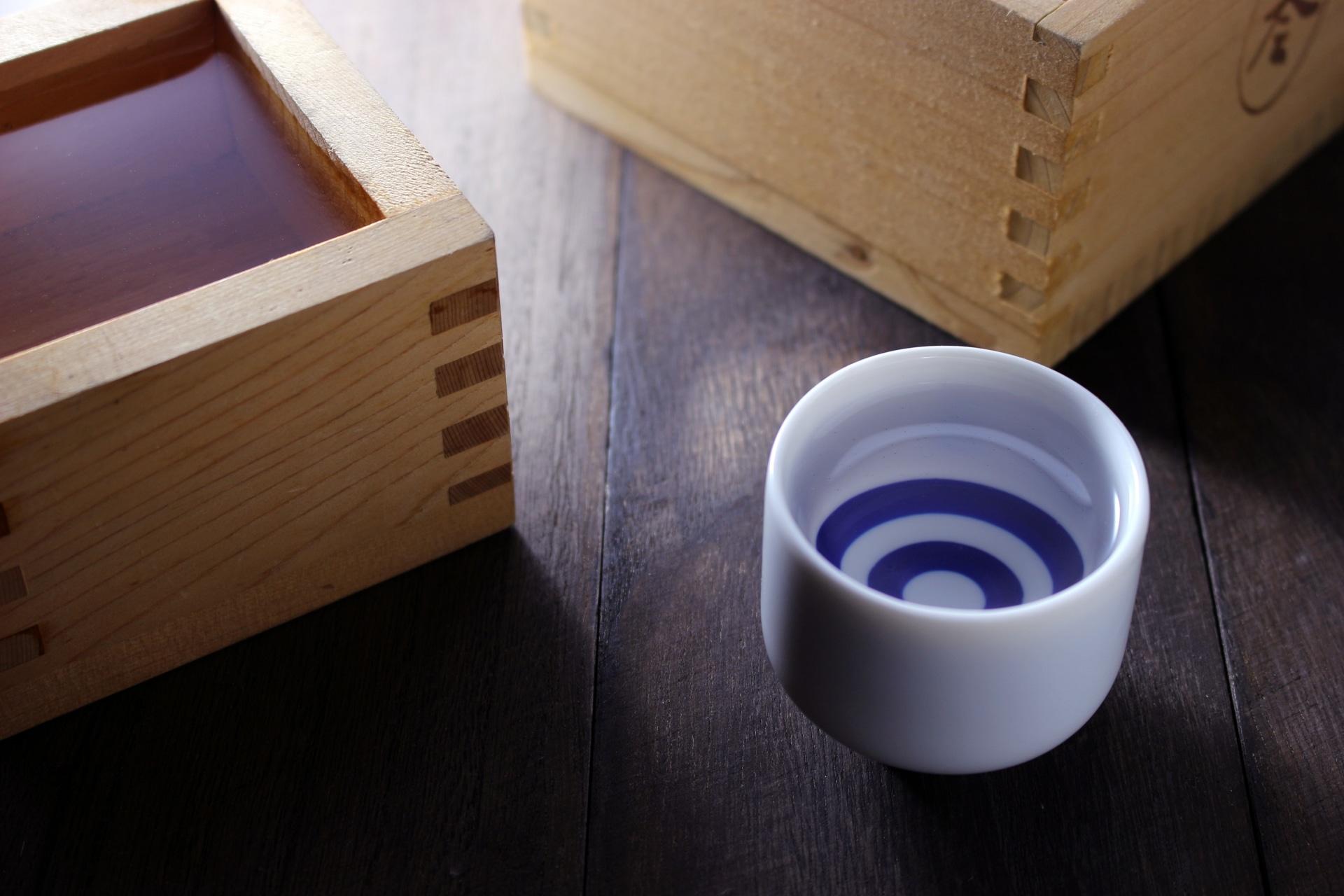 鰹節と日本酒