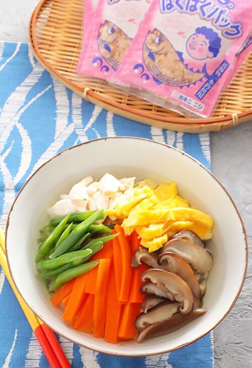 かつお出汁香る菜飯(セーファン)