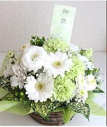 3色お供え花
