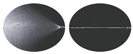 霧の角度が調整できます。直射OK!/ダイヤスプレー プレッシャー式噴霧器 ハンディタイプ No.4130