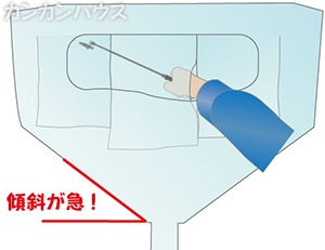 壁掛けエアコン用洗浄シート説明