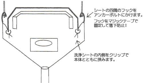 天カセエアコン用洗浄シート