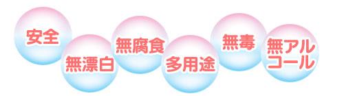 安全、無漂白、無腐食、多用途、無毒、無アルコールの次亜塩素酸水ウィッキルS