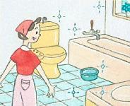 洗面所、バスルーム、トイレに/ハイホーム