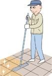 クローザー&ポイント補修剤の施工方法 初期施工/ユシロンコート クローザー