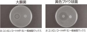 抗菌性試験/ユシロンコート HP