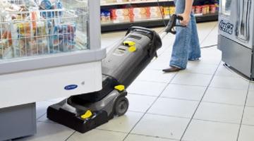 アクセス性能/ケルヒャー業務用小型床洗浄機BR30/4C