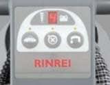 リンレイルーク14mini/操作パネル