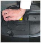フィルター目詰まり解消/ケルヒャー 業務用乾湿両用クリーナーNT35/1Ap