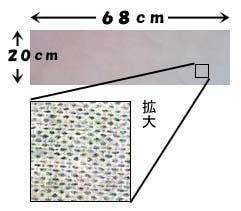 カンカンダスタークロスはスパンレース不織布を使用