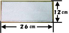 モケットモップMM260/サイズ26cm×12cm