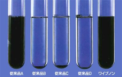 カーボン分散試験/コニシ ワイプノン
