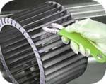 シロッコファン用お掃除ブラシ/換気扇ファンブラシ