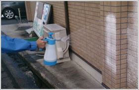 グロリア 蓄圧式泡洗浄器 FM10/実演