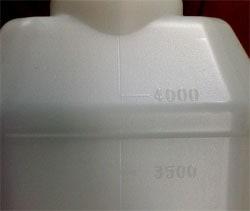 ポリ容器2L/目盛つき