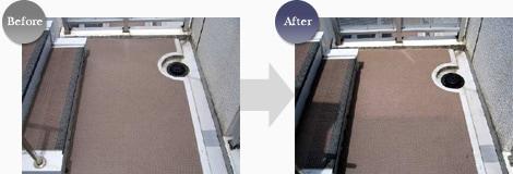 ビアンコジャパン拭き取り用洗浄剤BJ2000/使用例1