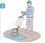 使用方法2/ユシロ マンション廊下専用クリーナー