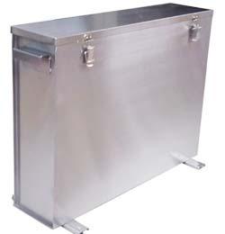 アルミレンジフィルター洗浄システム 洗浄槽
