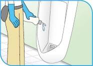 シーバイエス酸性クリーナー/トイレボウルの洗浄方法