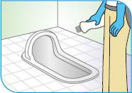 シーバイエス酸性クリーナー/水面下の汚れを取る方法