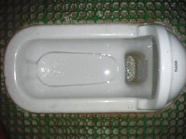 和式便器の汚れの洗浄 施工前/スマート フラッシュ
