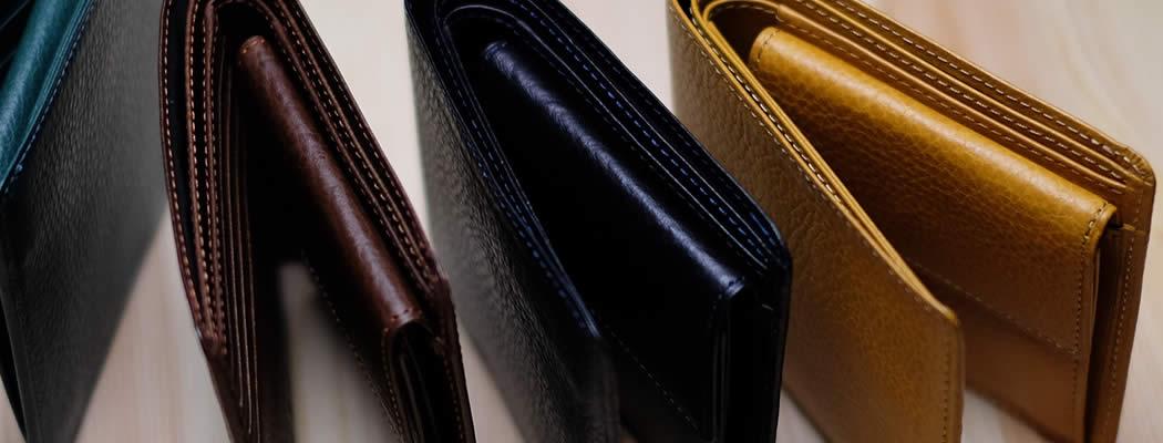 二つ折り財布 アリゾナ 革 イタリアンレザー