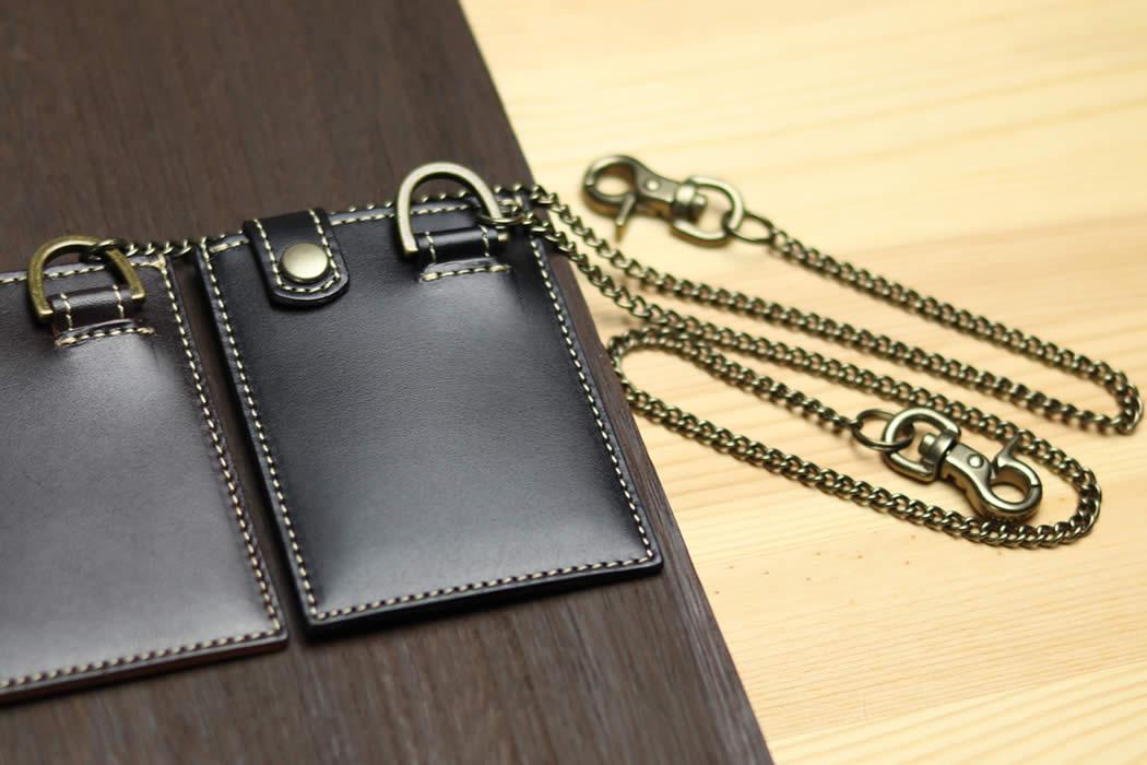 パスケース 革 1枚 ICカード Suica PASMO