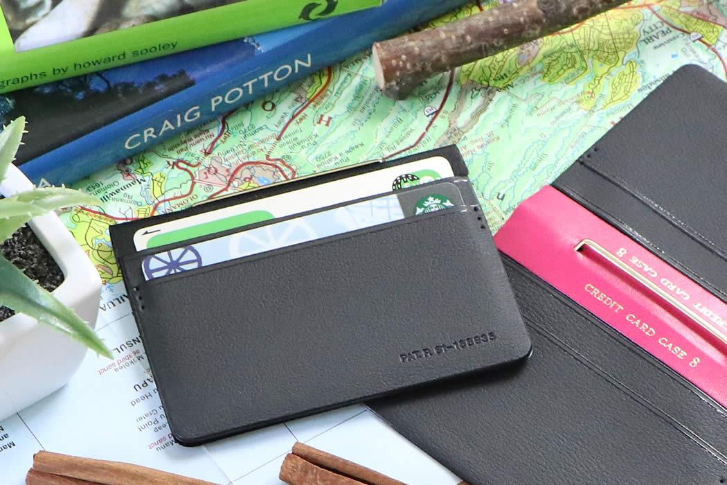 カードケース コンパクト 薄い 革 Suica PASMO