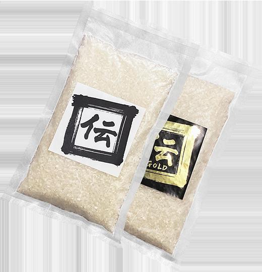 新潟県産植酸栽培コシヒカリ「伝」