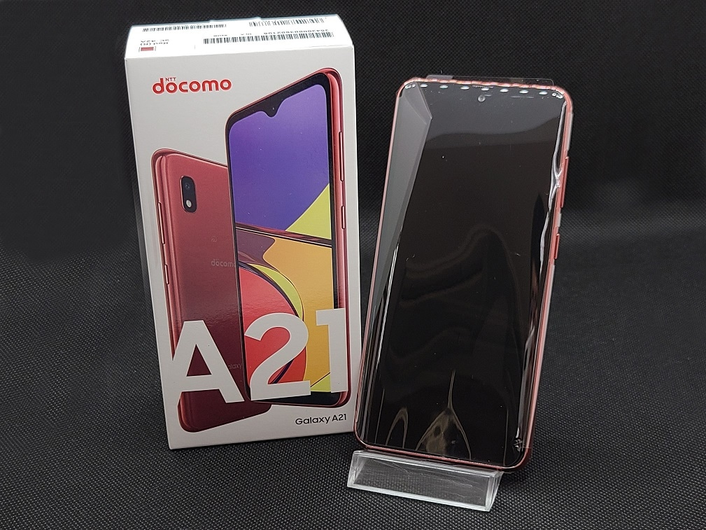 Galaxy A21 SC-42A docomo [レッド]