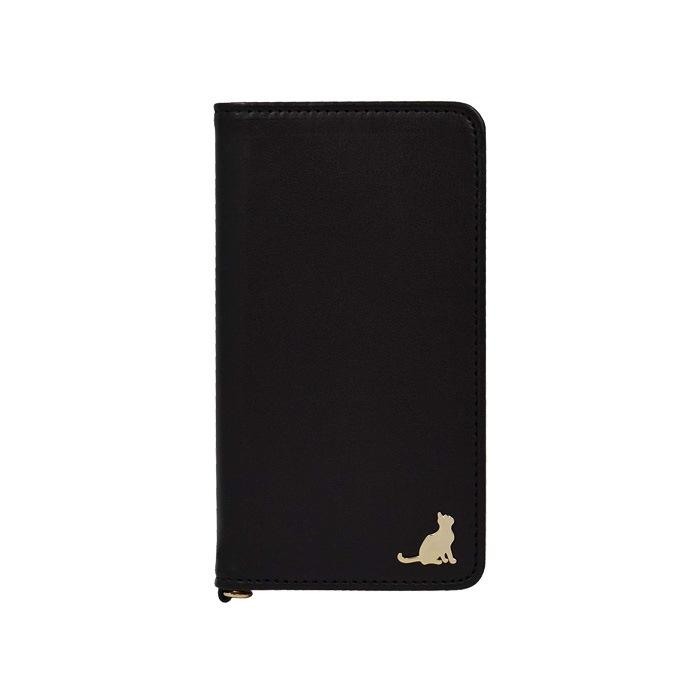 エレガンテ・シャトン 全機種対応版 手帳型ケース 06.ブラック