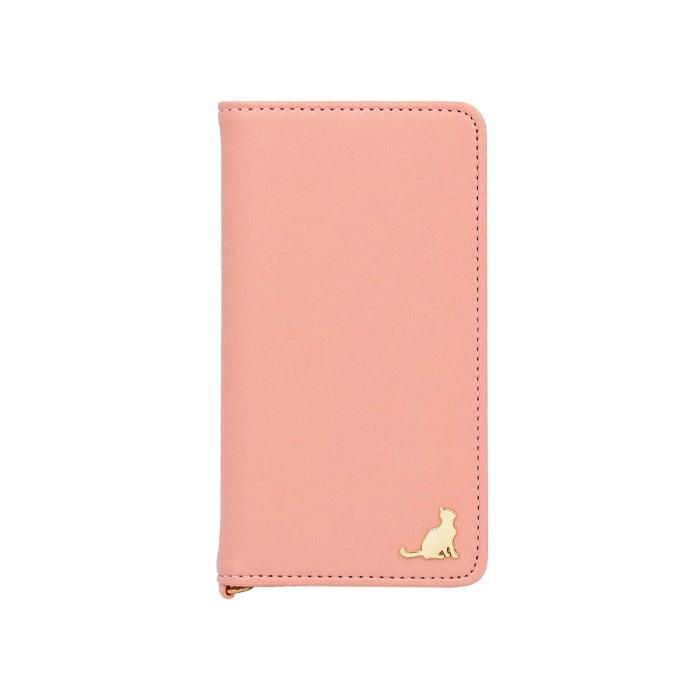 エレガンテ・シャトン 全機種対応版 手帳型ケース 03.ピンク