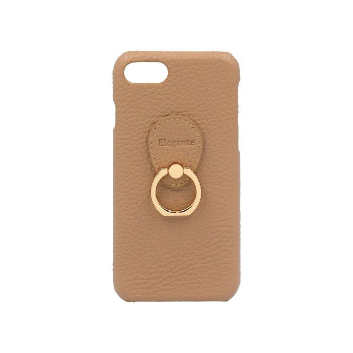エレガンテ・ポッシュ iPhone専用ハードケース 06.カフェモカ