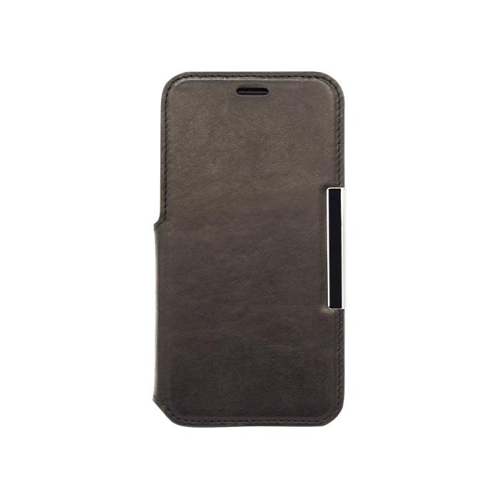 エレヴァイド・プログレス iPhone専用 手帳型ケース 01.ブラック