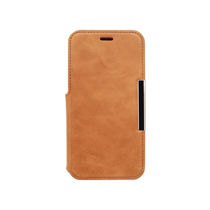 エレヴァイド・プログレス iPhone専用<br>手帳型ケース05.キャメル