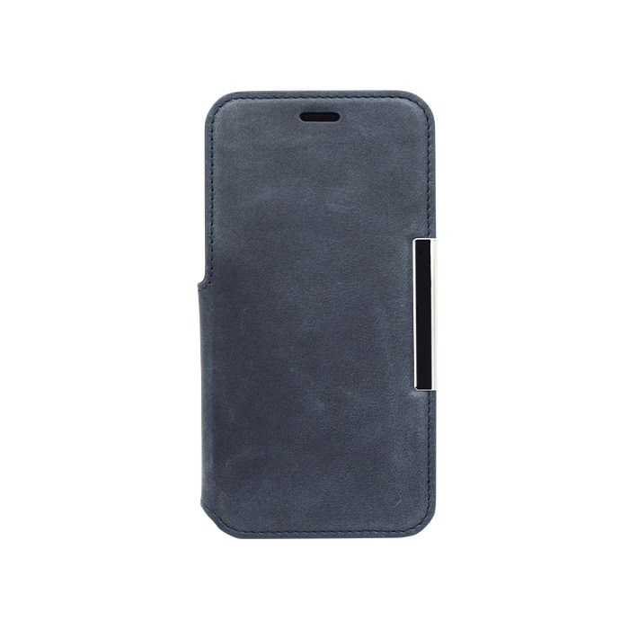 エレヴァイド・プログレス iPhone専用<br>手帳型ケース 03.ネイビーブルー