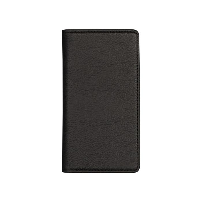 エレヴァイド・シンプル 手帳型ケース  01.ブラック