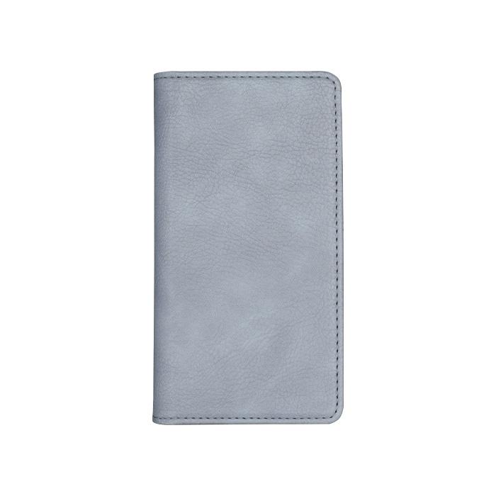 エレヴァイド・シンプル 全機種対応版 手帳型ケース 08.シャドウブルー