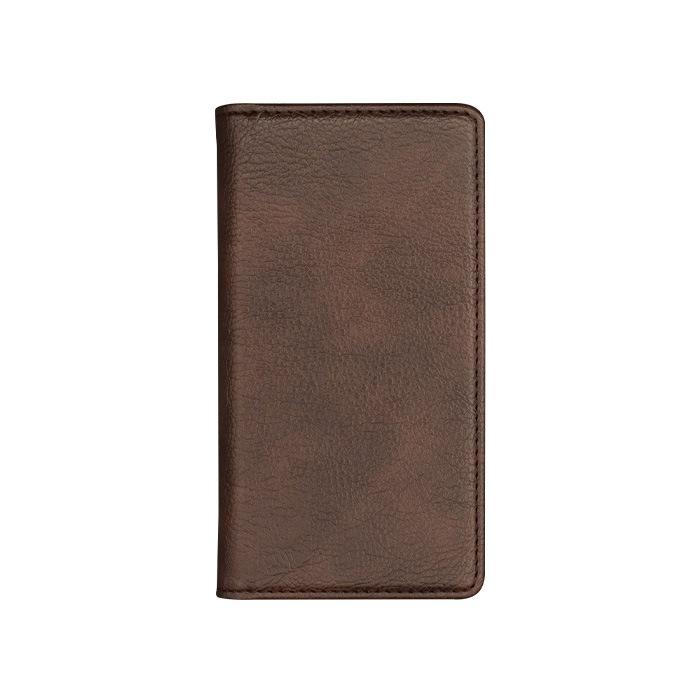 エレヴァイド・シンプル 全機種対応版 手帳型ケース 02.ブラウン