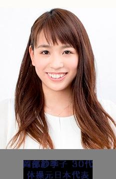 岡部紗季子30代 体操元日本代表