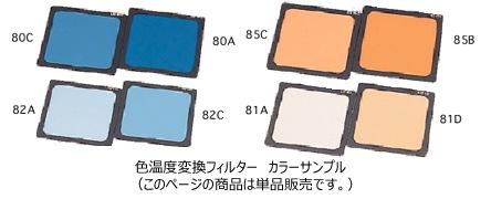 LEE100×100mm角ポリエステルフィルター色温度変換フィルターカラーサンプル