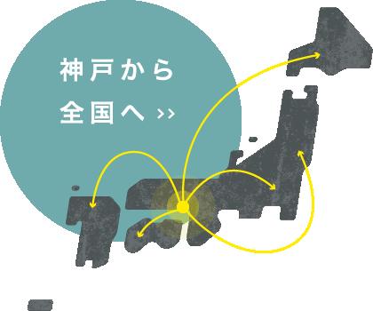 神戸から全国へ