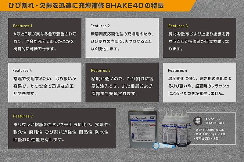 SHAKE40特徴