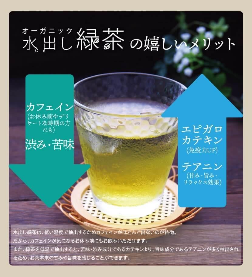 九州産オーガニック水出し緑茶