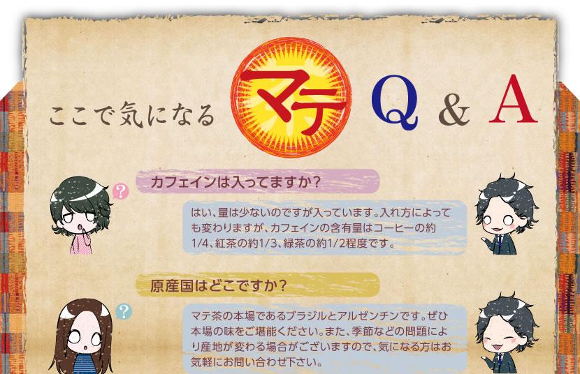 マテ茶についてQ&A