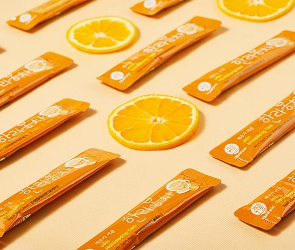 済州ハンラボン茶個包装イメージ画像2