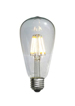 E26口金 6W LEDエジソン型電球