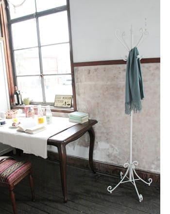 antique pole hanger