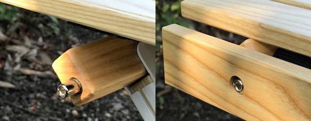 アペロウッドテーブル(ロータイプ)